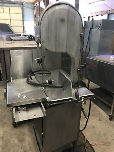 Biro 3334 Commercial Butcher Shop Meat Bone Processing Band Saw Nice