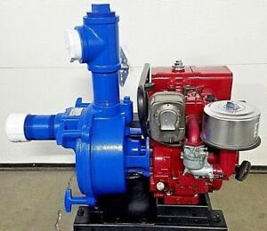 Monarch Tsp 3 Water Trash Pump 3 Self Priming Centrifugal Pump Briggs 8hp I c