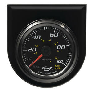 Equus Engine Oil Pressure Gauge 6244 6000 Series 0 100 Psi 2 Mechanical