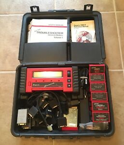 Snap On Scanner Mt2500 With Keys Cartridges Adapters And Manuals
