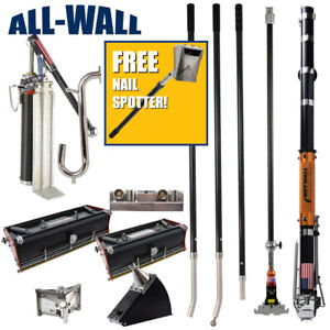 Drywall Master Full Set Taping Finishing Tools Free Nail Spotter 325 Value