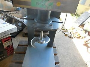 Food Processor Chopper Commercial 220 Volts Single 45 Inches Tall 16 Wide 1 5 Ga