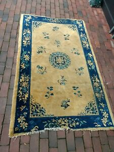 Old Or Antique Chinese Rug Carpet