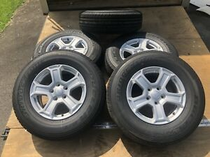 2018 Jeep Wrangler Jl Brand New Take Offs 17 Oem Five Alloy Wheels And Tires