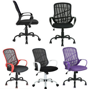 360 adjustable Ergonomic Mesh Swivel Computer Office Desk Task Chair Mid back