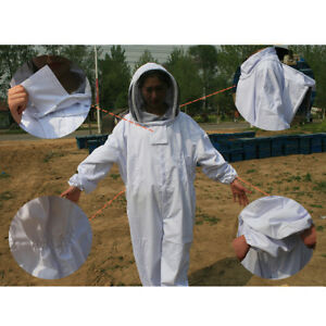 Full Apiarist Beekeeping Suit Total Protection For Beekeepers all in one Xxl
