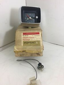 Nos 1966 Catalina 2 2 Or Bonneville Clock 984629