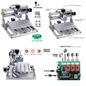 Diy Cnc Router Kits 2418 Grbl Control 3 Axis Wood Carving Milling Engraving