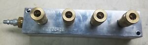 Daman Ah0000406p Manifold Header Block New Old Stock
