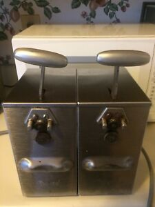 2 Edlund 266 Single Speed Commercial Electric Can Opener