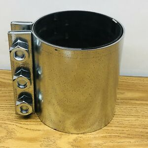 H p Engineering 5 Compression Coupling W Stainless Steel Ground Strip