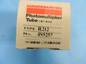 New Hamamatsu R212 Photomultiplier Tube Pmt 5708 0091 Thermo Scientific Box