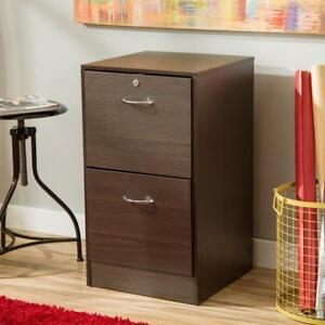 2 Drawer Letter Filing Cabinet Home Office Storage File Organizer Unit Furniture