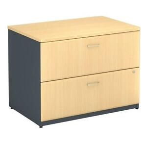 Series A 2 Drawer Lateral File Office Storage Filing Cabinet Furniture Organizer