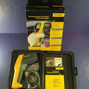 Fluke 561 Infrared And Contact Thermometer Excellent
