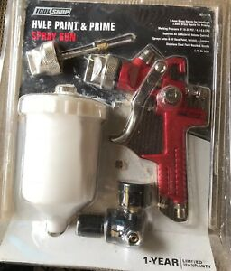 1 4mm Hvlp Gravity Feed Spray Gun W Air Regulator Auto Paint Basecoat Clearcoat