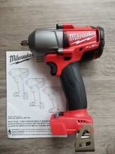 New Milwaukee M18 Fuel 3 8 Drive Mid Torque 600 Ft Lb Impact Wrench 2852 20