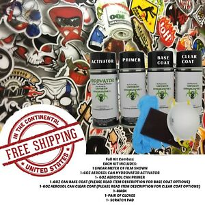 Hydrographic Water Transfer Hydro Dip Activator 1m Sticker Bomb Z Dip Kit