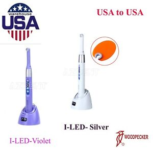 Usps Woodpecker I Led Dental Curing Light 1 Second Cure Lamp 2300mw cm2 Original