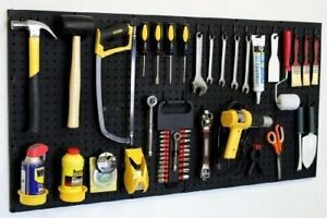 Wallpeg 24 X 48 Garage Pegboard Kit With Pegboard Accessories Am 24242bk