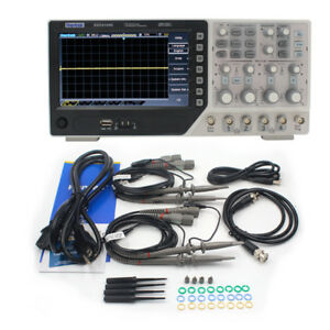 Oscilloscope Digital 4 Channel 100mhz Pc Lcd Display Auto Function 7 Inch Usb