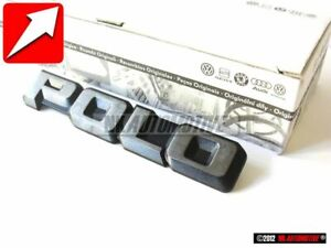 Original Vw Polo Rear Trunk Boot Badge Emblem Chrome 867853687 Gx2