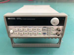 Hp agilent 33120a 15 Mhz Function arbitrary Waveform Generator refurbished cal