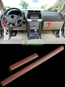 Interior Center Console Stripe Decorative Trim For Toyota Prado Fj150 2010 2018