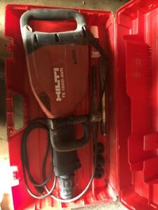 Hilti Te 1500 avr Electric Breaker Demolition Demo Hammer Jack Hammer Bidadoo