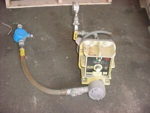31 Gallons Per Day Milton Roy Co Metering Pump