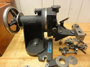 Rare Hill Cutter Radius Grinding Fixture For 3 To 6 Cutters Up To 1