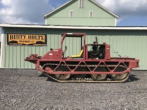 Bombardier Muskeg Carrier Tracked Utility Vehicle Diesel Cheap Shipping Rates