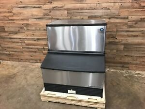 2017 Hoshizaki Km 260bah 30 Air Cooled Undercounter Crescent Cube Ice Machine