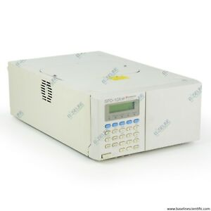 Refurbished Shimadzu Hplc Spd 10a Vp Uv vis Detector With One Year Warranty