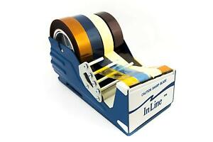 General Purpose Tape Dispenser For 4 Wide Tapes Heavy Duty Table Top