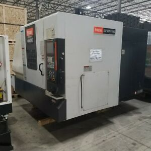 Used Mazak Nexus Vcn 510c Cnc Vertical Machining Center Mill Mazatrol 640m 2006