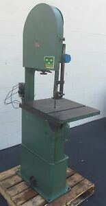 Rodgers 1hp Vertical Band Saw 20 Throat B20 Cutting Industrial