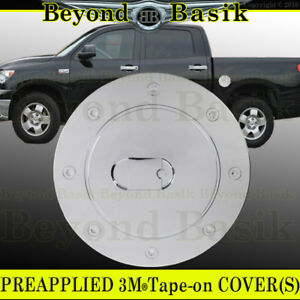For 2007 2020 Toyota Tundra Chrome Fuel Tank Gas Door Cover