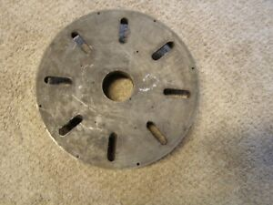 13 Dia Face plate For A Metal Lathe W D1 6 Spindle Mount