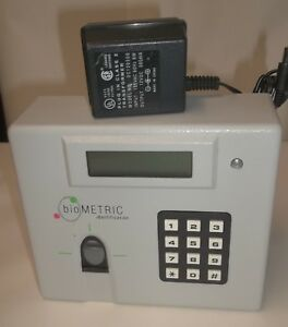 Honeywell Veriprint Biometric Identification Fingerprint Time Clock V2100 2m