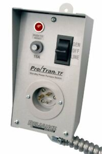 Reliance Controls Corporation Tf151w Easy tran Transfer Switch For Generators Up