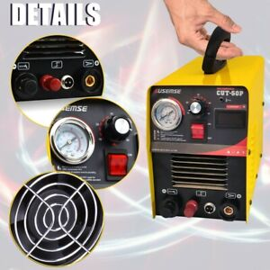 Pilot Arc Plasma Cutter Cut50 Plasma Cutting Machine 110 220v 14 Consumables