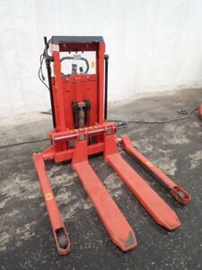 Interthor Elfs 1201 890 Electric Walk Behind Straddle Lift 07181610009