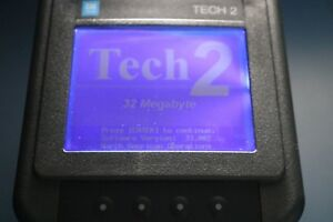 Gm Tech 2 Diagnostic Scan Tool working