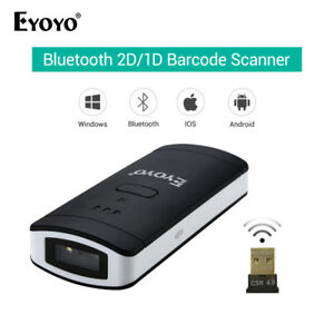 Eyoyo Bar Code Reader Barcode Scanner Bluetooth Wired wireless For Ios Android