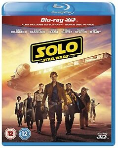Solo: A Star Wars Story Blu-ray 3D