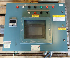 Cleaver Brooks Lnvg 80 Boiler Control Panel Assembly Used Take Out