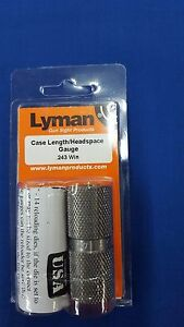 Lyman Rifle Case Length Headspace Gauge for 243 Win - New