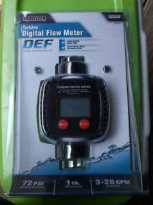 Traveller Turbine Digital Flow Metr Diesel Ehaust Fluid 1289390 1 New