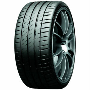 1 New Michelin Pilot Sport 4s P255 35zr18 Tires 35zr 18 255 35 18